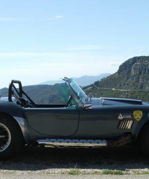 Rallye Classic car en AC Cobra