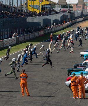 Départ le Mans Classic