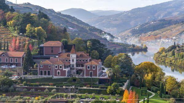Hôtel de luxe dans la vallée du Douro