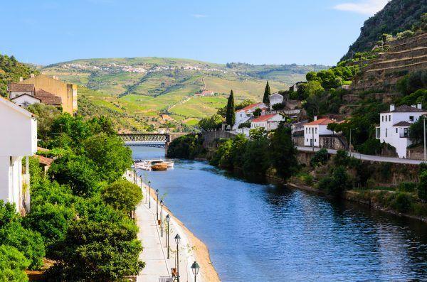 au bord du Douro, des vignes et des Quintas superbes.