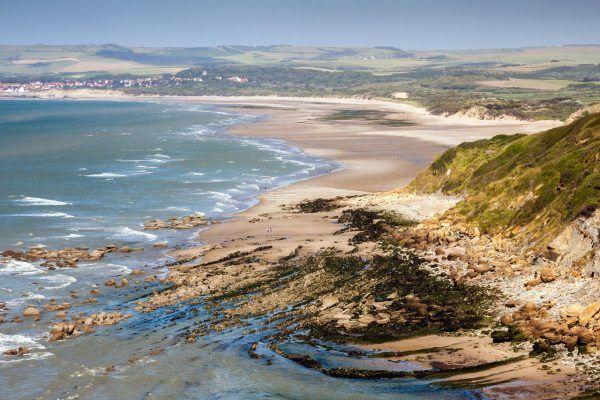 Les plages sauvages de la Côte d'Opale