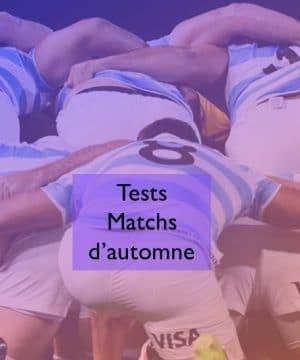 Rugby Test Match